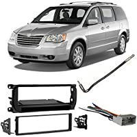 Fits Chrysler Town & Country 2002-2007 Single DIN Harness Radio Dash Kit