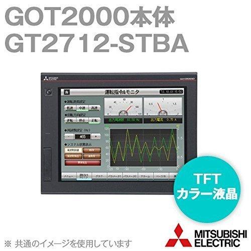 三菱電機 GT2712-STBA GOT2000 GOT本体 (12.1型) (解像度 800×600) (AC100-240V) (パネル色:黒) NN B00IP2OE0W