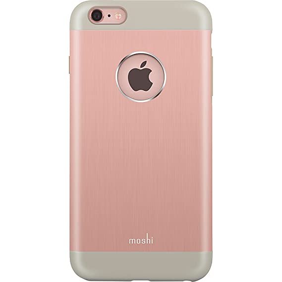 the best attitude ce4c8 fdb08 Moshi iGlaze armour Case for iPhone 6s Plus and 6 Plus - Golden Rose -  99MO080305