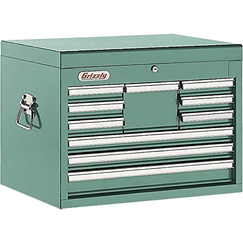 Grizzly H5652 10 Drawer Ful Length Depth Chest (Tool 10 Drawer Chest)