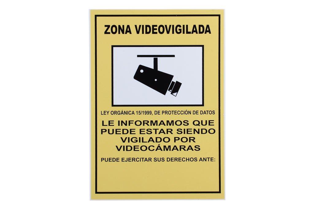 Cofan VV01PL210148 Señal Poliestireno, 210 x 148 mm