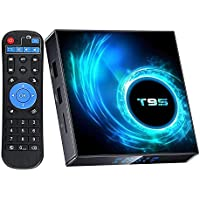 Android TV Box 10.0,Android Boxes 4GB Ram 64GB ROM Allwinner H616 Quad-Core ,Support 2.4G+5GHz Dual Wi-Fi/BT5.0/6K Ultra…