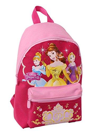 Seven Disney Princess 2B9001606-310 Zaino per Scuola, Small, 10 litri, Poliestere, Rosa
