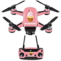 Skin for DJI Spark Mini Drone Combo - Cupcakeologist| MightySkins Protective, Durable, and Unique Vinyl Decal wrap cover | Easy To Apply, Remove, and Change Styles | Made in the USA