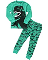 Boys Pajama Dinosaur Kids Sleepwear Toddler...