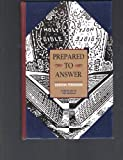 Prepared to Answer, Gordon Ferguson, 1884553567