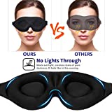 YIVIEW Sleep Mask for Women Men, Eye Mask for