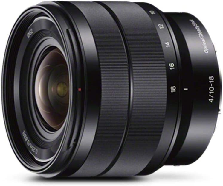 Sony SEL1018 E Mount - APS-C 10-18mm F4.0 Wide Angle Zoom Lens