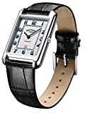 Rotary Men's Watch Cambridge Rectangle 42mm Silver
