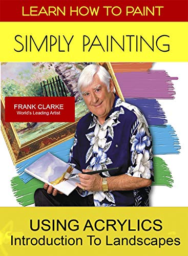 Acrylic Painting Dvd - Simply Painting Learn How to Use Acrylics & An Introduction to Landscapes