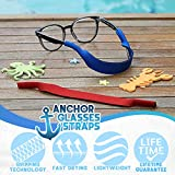 Baby Glasses and Sunglasses Strap 2pk | Active Kids with Bonus Stickers