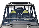 Polaris RZR 1000 Full Folding, Scratch Resistant Side by Side UTV Windshield. The Ultimate in Versatility! Full, Half or Off in minutes! Also fits 2015 & Newer RZR 900s - Hard CoatMade in America!