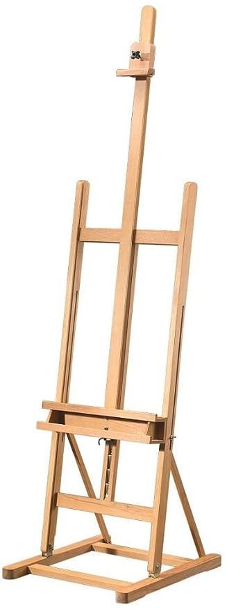 Amazon.com: Alvin HWE150 Heritage Arts Magellan H-Frame Wooden Easel ...