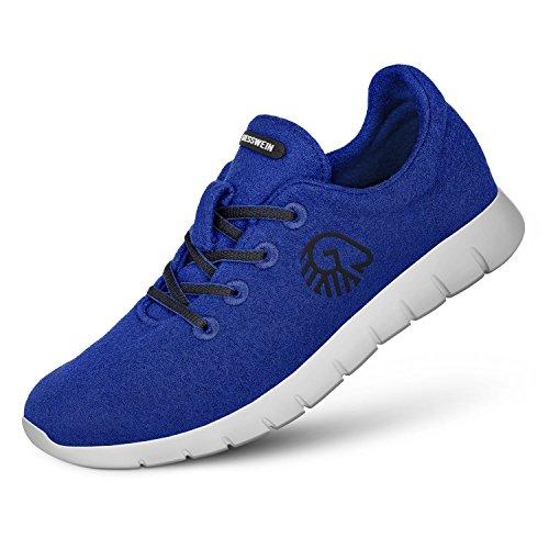 6810 Runners Bleu Women 017 49300 Giesswein Merino Royal Schnürschuh Damen xSw8qqv