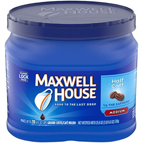 Maxwell House Half Caff Ground Coffee, 25.6 oz ()