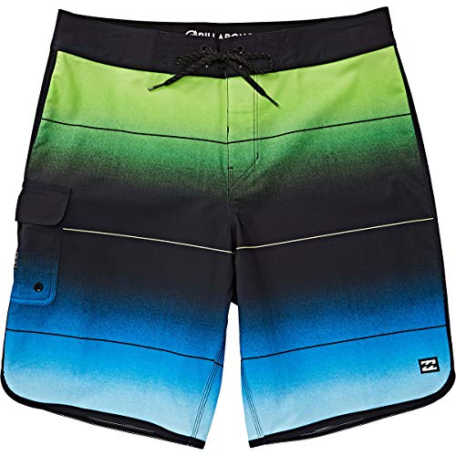 - Billabong Men's 73 Stripe Pro Boardshorts Neo Green 34