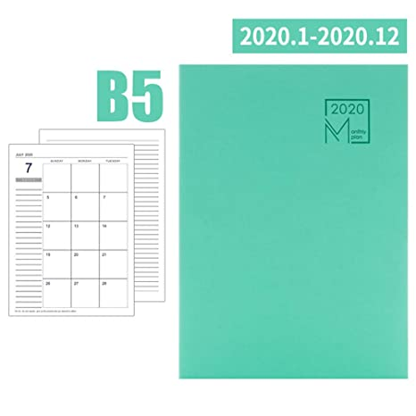 Bgbm Agenda 2019-2020 Semana Vista Calendario Diario ...