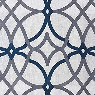 H.VERSAILTEX Linen Curtains Light Filtering Privacy Protecting Panels Premium Soft Rich Material Drapes, 2-Pack