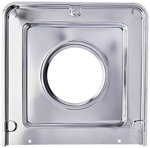 (Range Kleen SGP401 Style J Chrome-Plated Square Drip Pan, 9.125 x 9.3125 Inches)