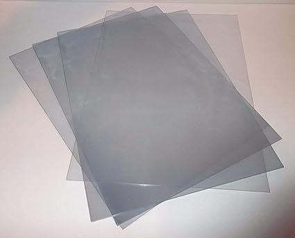 Hojas de acetato de tamaño A3 transparentes de PVC 240 micrones de ...