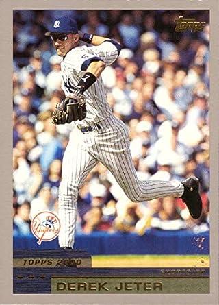 2000 Topps 15 Derek Jeter Baseball Card Near Mint To Mint
