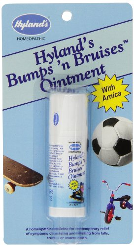 Hyland's 4 Kids Bumps'n Bruises Relief Ointment with Arnica, Natural Muscle Soreness and Bruising Relief, 0.26 Ounce