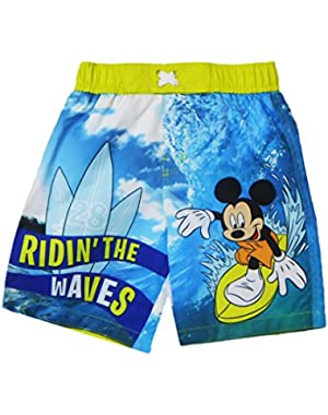 Mickey Mouse Toddler Boys Swimming Trunk 4T