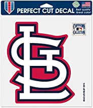 WinCraft MLB St. Louis Cardinals Retro Perfect Cut Color Decal, 8 X 8-Inch