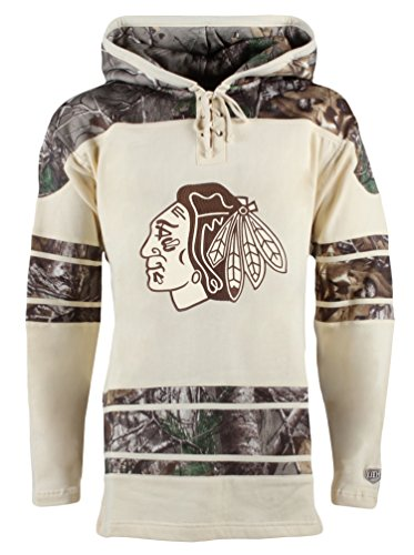 NHL Chicago Blackhawks Jonathan Toews Men's Realtree Lacer Name & Number Hoodie, Small, Multi - Mens Names Shop