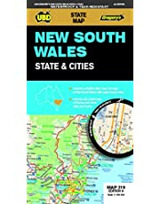 New South Wales State & Cities Map 219 9th ed waterproof