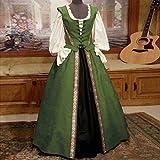 Lazapa Women's Two-Piece Medieval Vintage Gothic