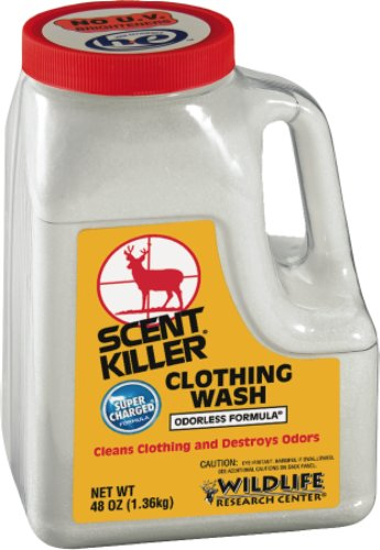 Wildlife Research 545-44 Scent Killer Powder Clothing Wash, 48 Ounces