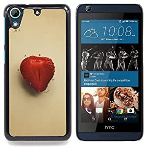 """Juicu fresa"""" - Metal de aluminio y de plástico duro Caja del teléfono - Negro - HTC Desire 626 626w 626d 626g 626G dual sim"""