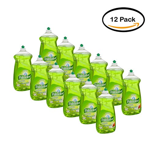 PACK OF 12 - Palmolive Dishwashing Liquid, Crisp Orchard Burst, 52 Fluid Ounce by Palmolive