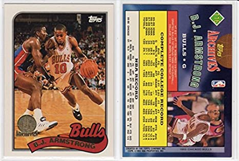 Bj Armstrong Topps Archive Rookies Gold Basketball Card At