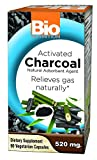 Bio Nutrition Activated Charcoal 520mg 90 Vcaps