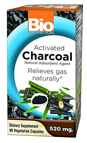 Bio Nutrition Activated Charcoal 520mg 90 Vcaps by Bio Nutrition