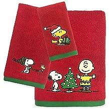 Peanuts Holiday Hand Towel