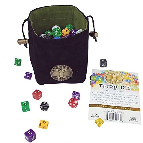 Third Die Dice Bag Handcrafted
