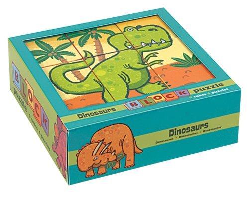 Dinosaurs Block Puzzle [Hardcover] [2012] (Author) Brian Biggs