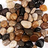 [18 Pounds] Pebbles Aquarium Gravel River Rock, Natural Polished Decorative Gravel,Garden Ornamental River Pebbles Rocks…
