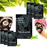 PILATEN 10 Pack of Blackhead Pore Cleansing Strips (Black) For Nose