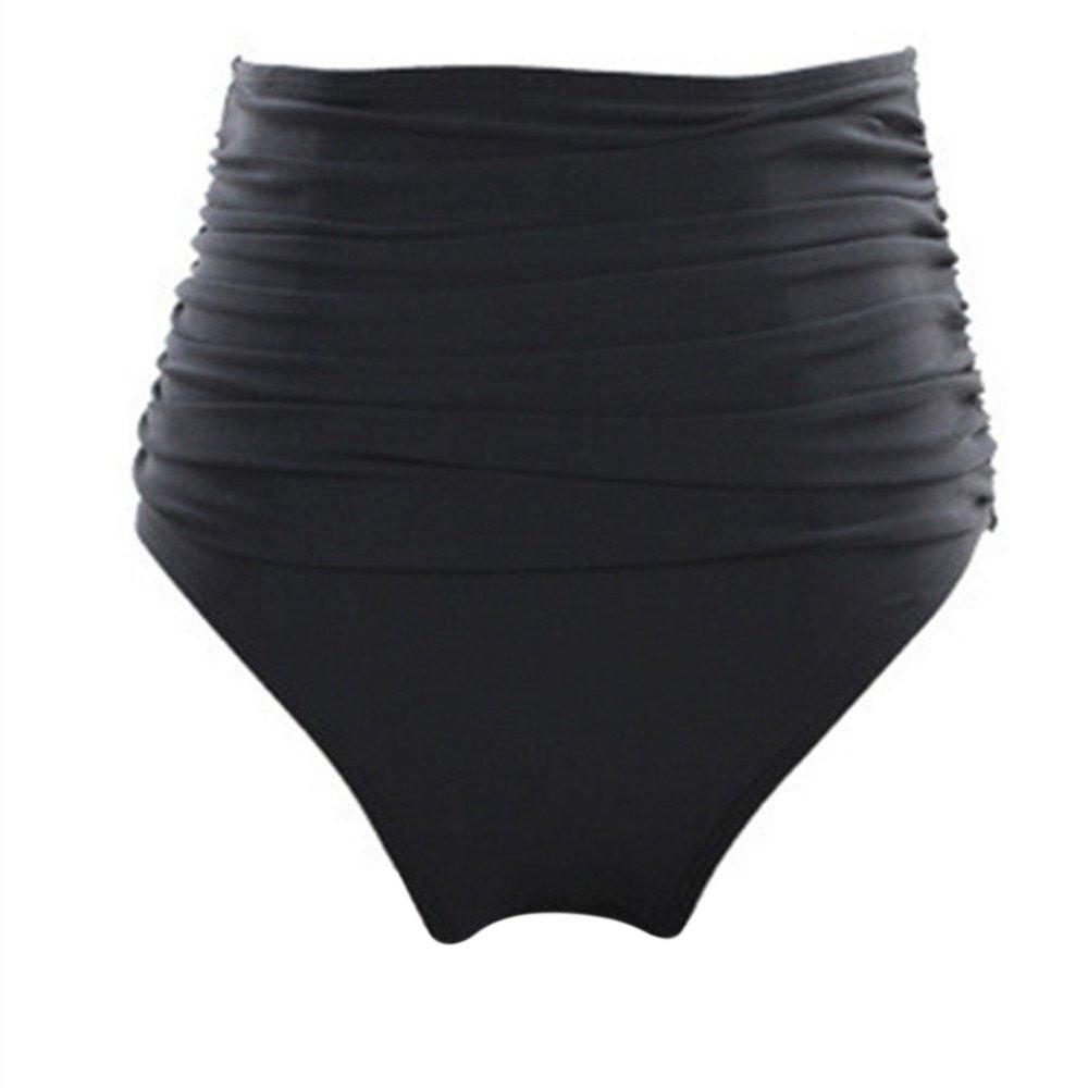 iBaste Donna Ragazze Tinta Unita Disegnare Stringa Breve Costumi Da Bagno Bikini Mare Piscina Pantaloncini NVYK0001