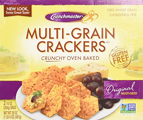 Crunchmaster Multi-Grain Crackers, Gluten Free, 20 (Crunch Master Multi Seed)