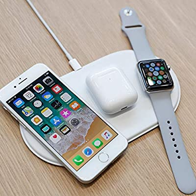 best service 5f2c8 60890 Margoun 3-in-1 Wireless Charging Pad for iphone X, Apple Watch ...