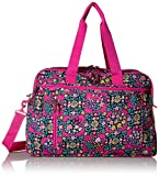 Vera Bradley Lighten Up Weekender Travel Bag, Kaleidoscope Rosettes