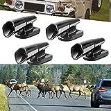 Best Deer Whistles - HOB4U 4 Pack Deer Whistle for Vehicles, Avoids Review