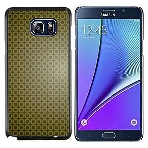 LECELL--Funda protectora / Cubierta / Piel For Samsung Galaxy Note 5 5th N9200 -- Simple patrón 9 --