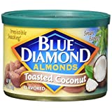 Blue Diamond Almonds, Toasted Coconut, 6 Ounce
