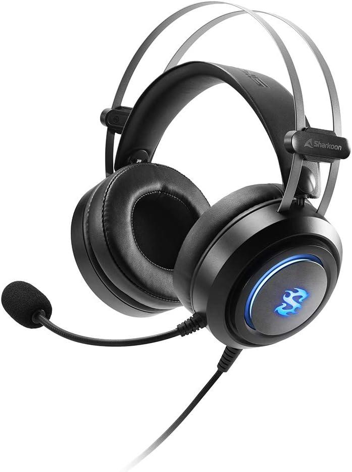 Auriculares Gaming Sharkoon SGH30 por sólo 25,75€ ¡¡28% de descuento!!